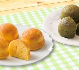 コープ 北海道産小麦のふんわりプチホットケーキ 国産ほうれん草入り・国産にんじん入り