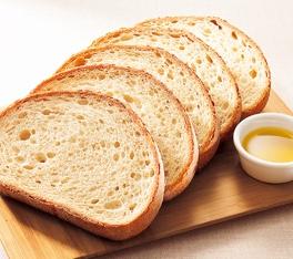 石窯全粒粉とオリーブオイルのパン